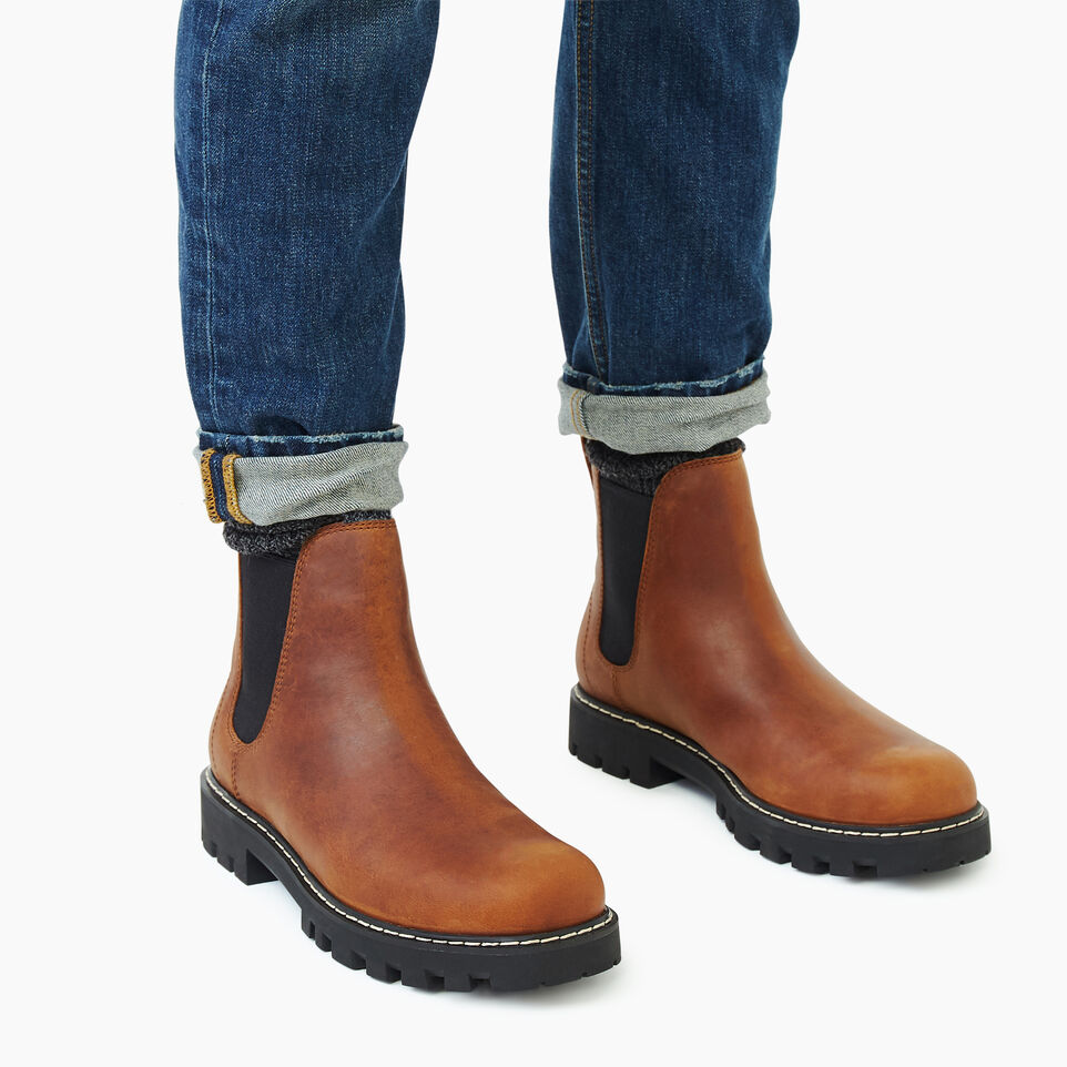 Roots-Footwear Our Favourite New Arrivals-Mens Tobermory Chelsea Boot-Natural-B