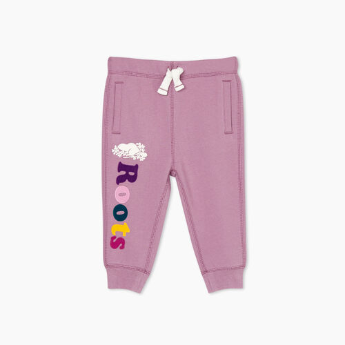 Roots-Kids Bottoms-Baby Remix Sweatpant-Valerian-A