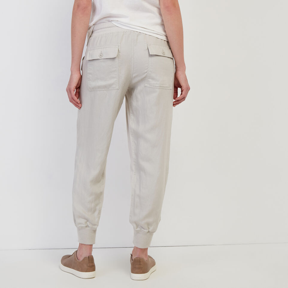 Roots-undefined-Linen Essential Jogger-undefined-D