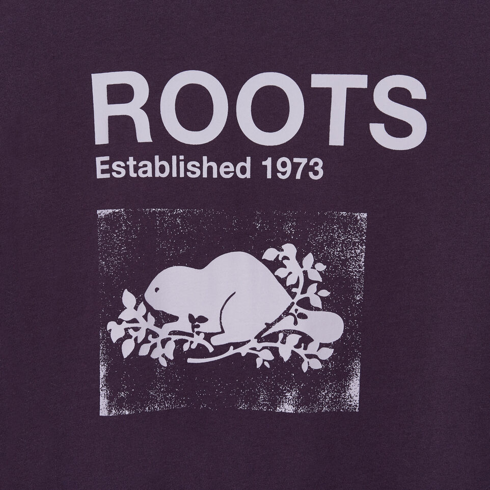 Roots-Women Clothing-Womens Canmore T-shirt-Nightshade-D