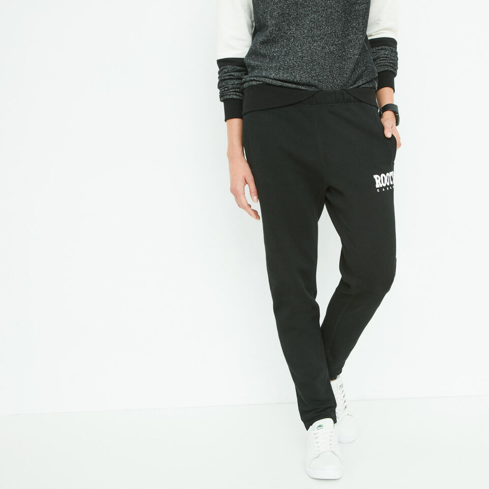 Roots-undefined-Retro Roots Slim Sweatpant-undefined-A