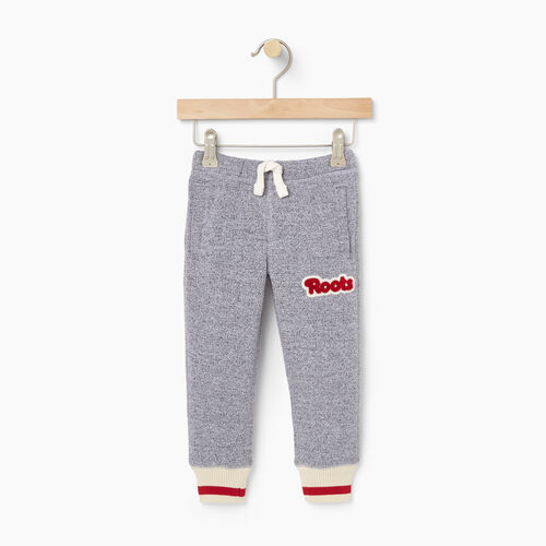 Roots-Kids Bottoms-Toddler Cabin Sweatpant-Salt & Pepper-A