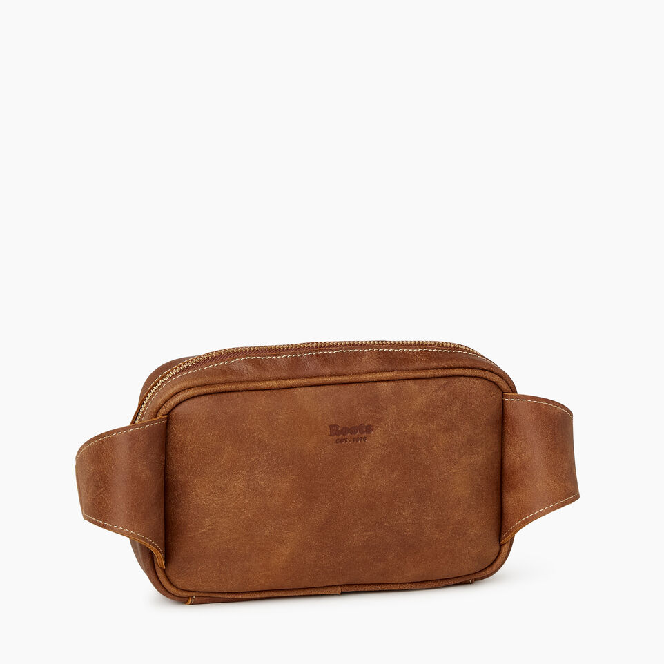 Roots-Leather  Handcrafted By Us Our Favourite New Arrivals-Roots Belt Bag-Natural-C