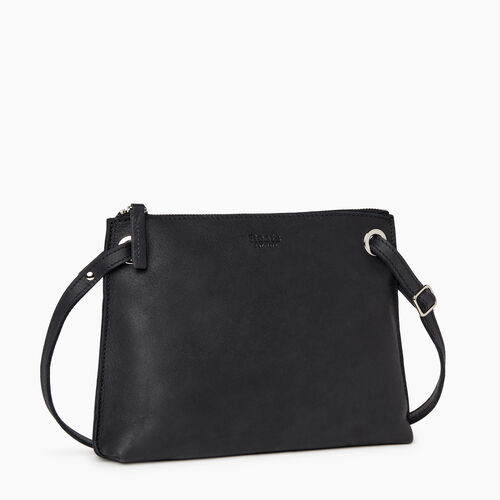 Roots-Leather Handbags-Edie Bag-Jet Black-A