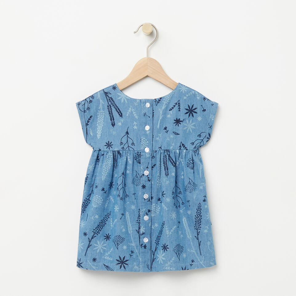 Roots-undefined-Baby Floral Denim Dress-undefined-B
