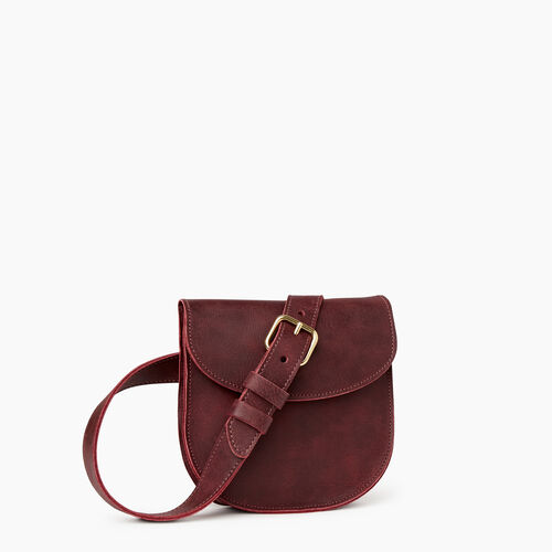 Roots-Leather  Handcrafted By Us Our Favourite New Arrivals-Lambert Belt Pack-Crimson-A