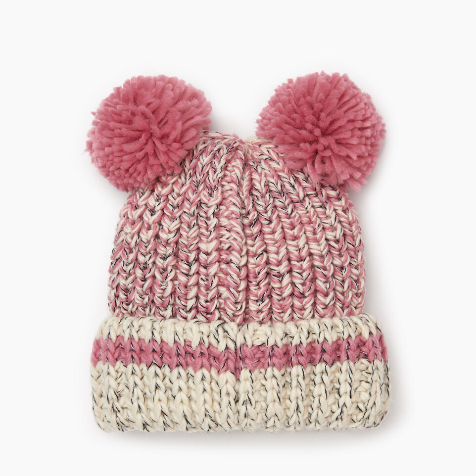 Roots-Sale Kids-Toddler Chunky Cabin Toque-Pink Mix-B