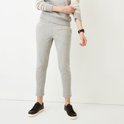 Roots-Women Slim Sweatpants-Weymouth Sweatpant-Grey Mix-A