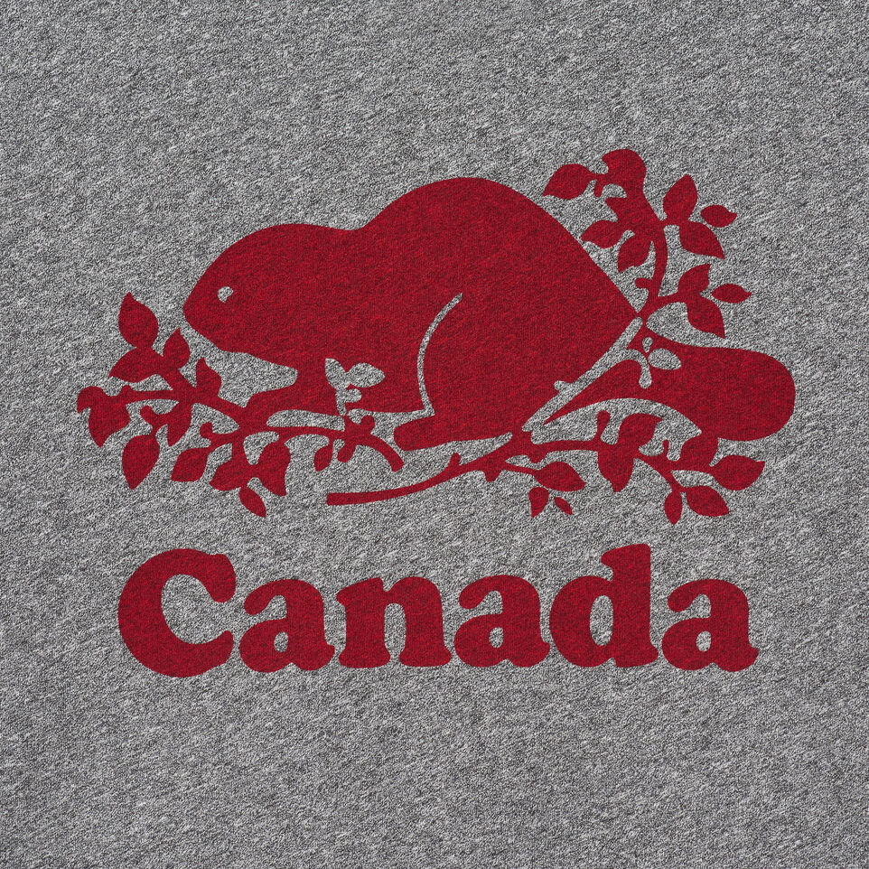 Roots-New For June Canada Collection By Roots™-Womens Roots Canada T-shirt-Grey Mix Pepper-D