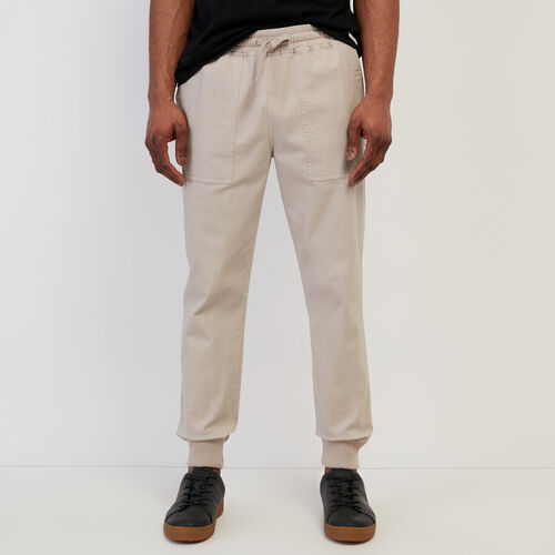 Roots-Men New Arrivals-Journey Jogger-True Khaki-A