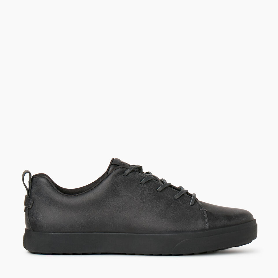 Roots-Footwear Shoes And Sneakers-Mens Parkdale Sneaker-Black-A