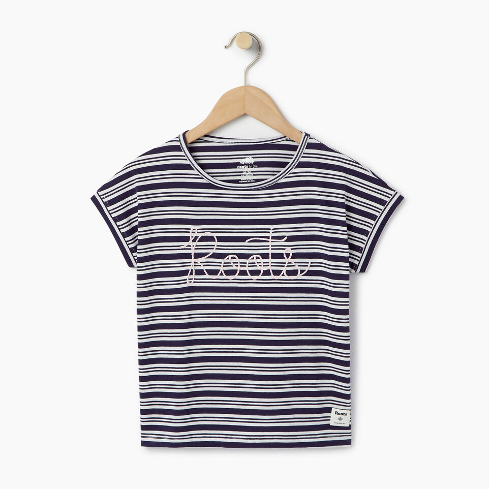 Roots-Kids Our Favourite New Arrivals-Girls Open Air T-shirt-undefined-A