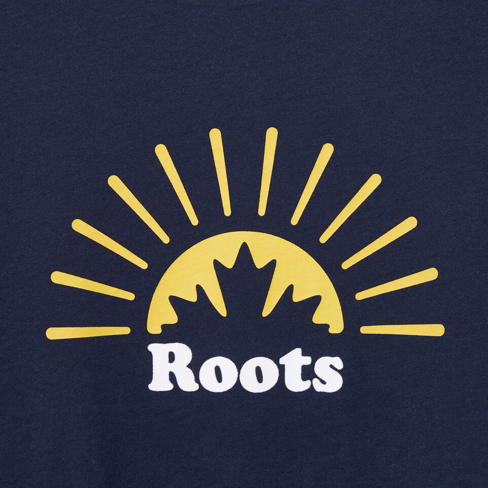 Roots-undefined-Womens Rising Sun T-shirt-undefined-D