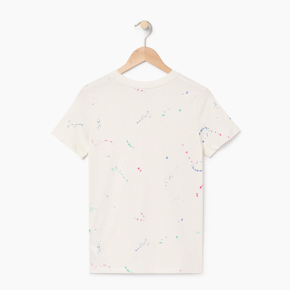 Roots-undefined-Womens Splatter T-shirt-undefined-B