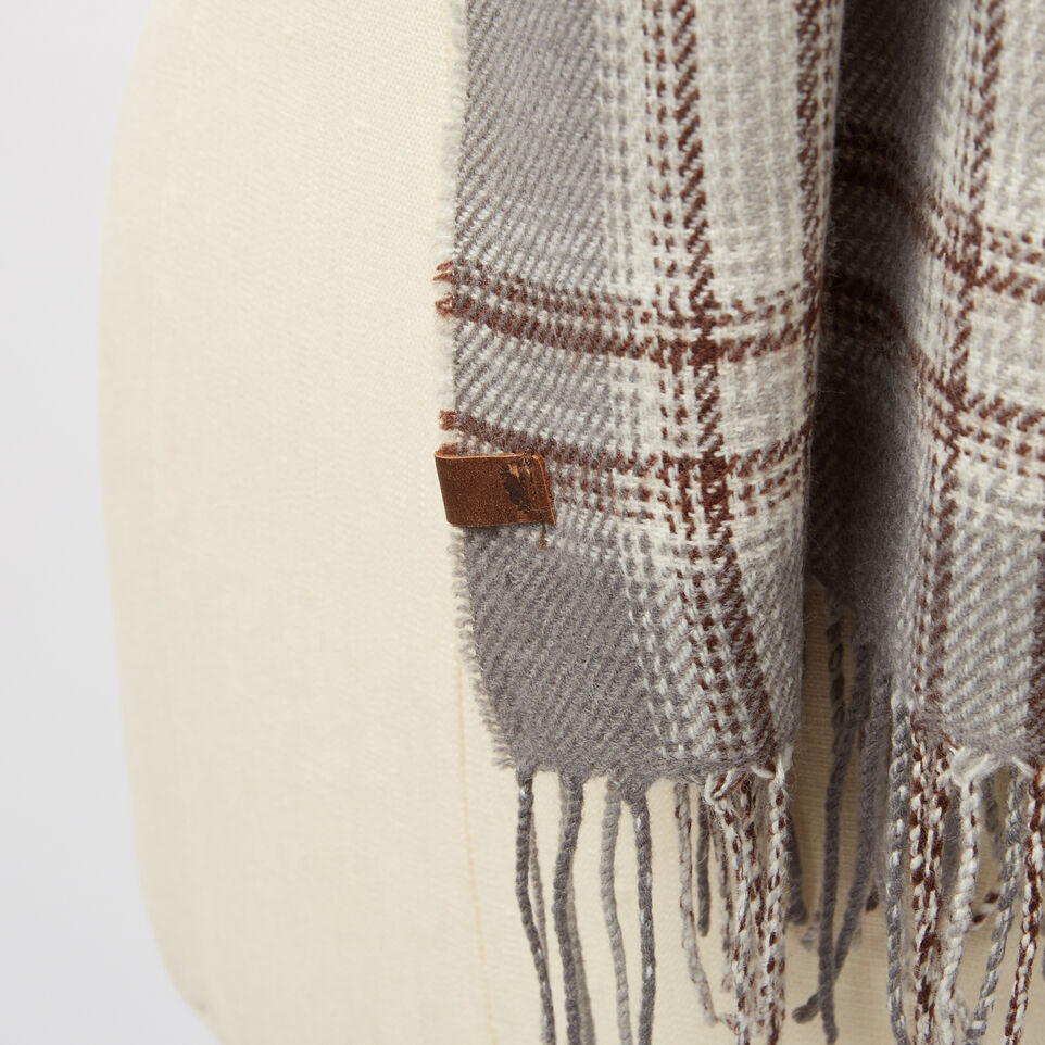 Roots-undefined-Ryleigh Plaid Scarf-undefined-C