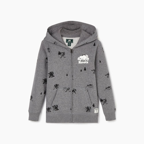 Roots-Kids Our Favourite New Arrivals-Boys Hockey Aop Full Zip Hoody-Medium Grey Mix-A