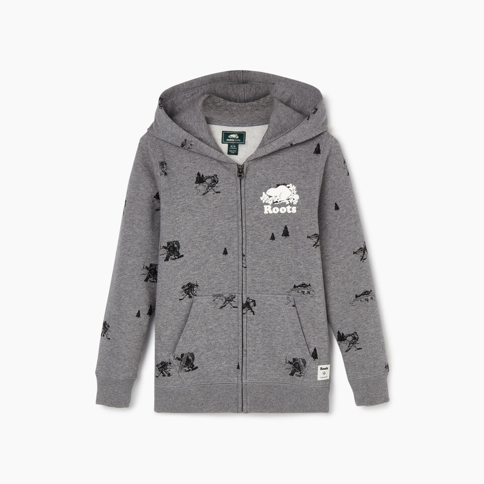 Roots-undefined-Boys Hockey Aop Full Zip Hoody-undefined-A