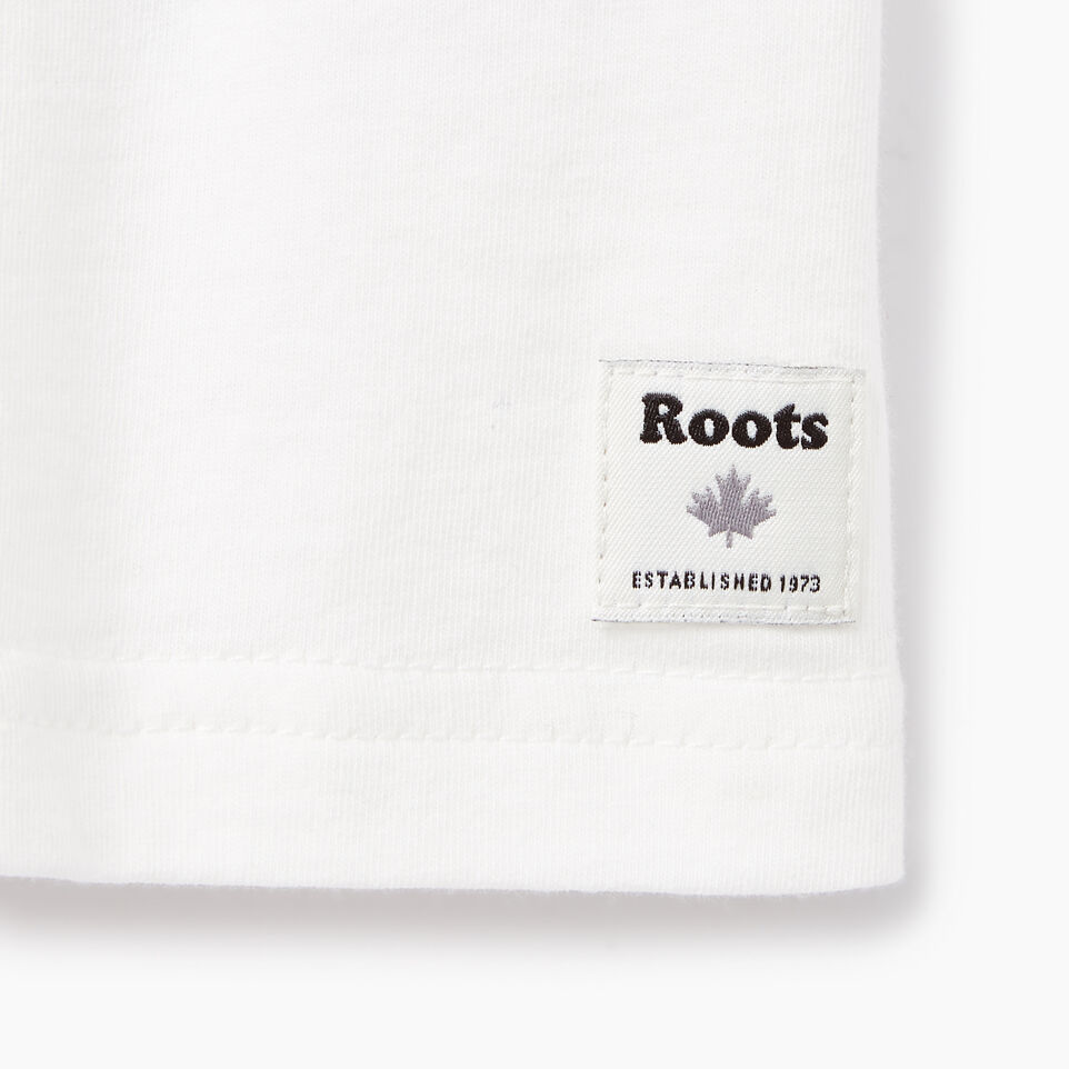 Roots-Kids New Arrivals-Toddler Camo Knockout T-shirt-Ivory-C