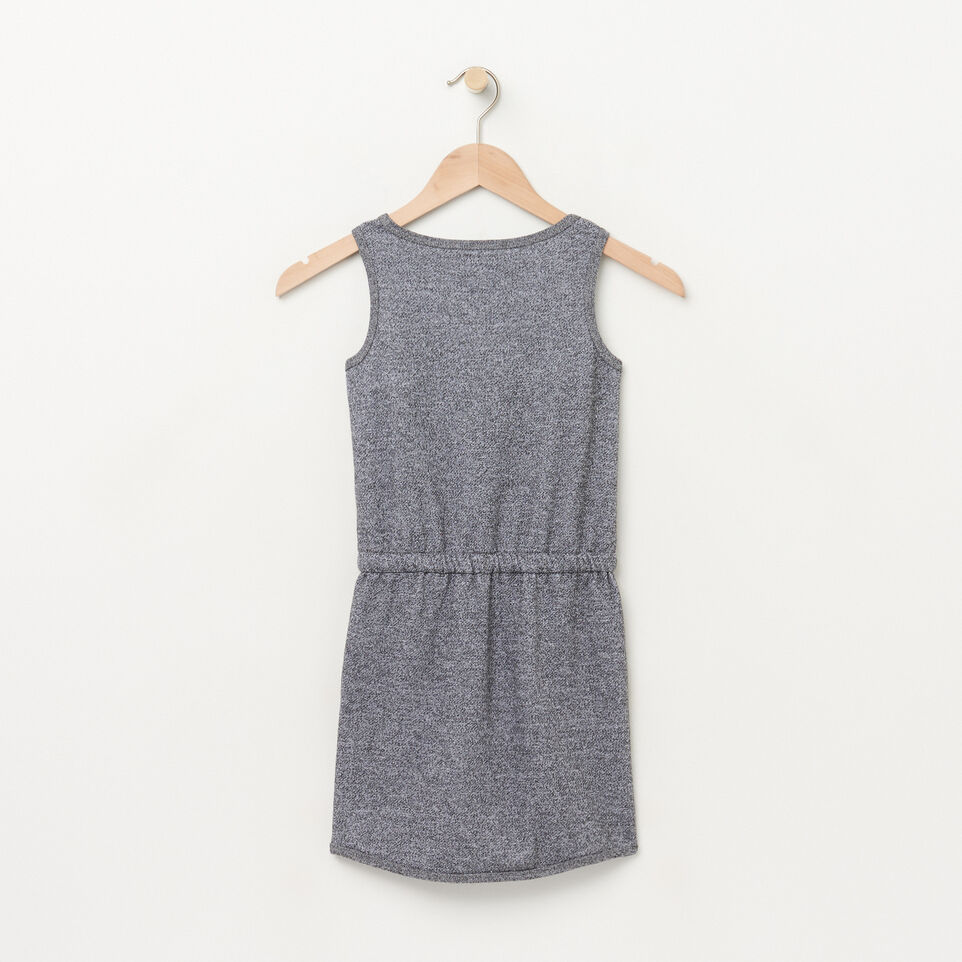 Roots-undefined-Girls Cooper Tank Terry Dress-undefined-B