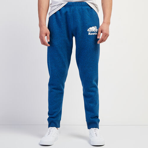 Roots-Men New Arrivals-Original Park Slim Sweatpant-Classic Blue Pepper-A