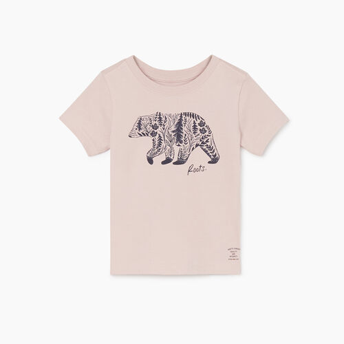 Roots-Kids New Arrivals-Toddler Woodland Animal T-shirt-Burnished Lilac-A