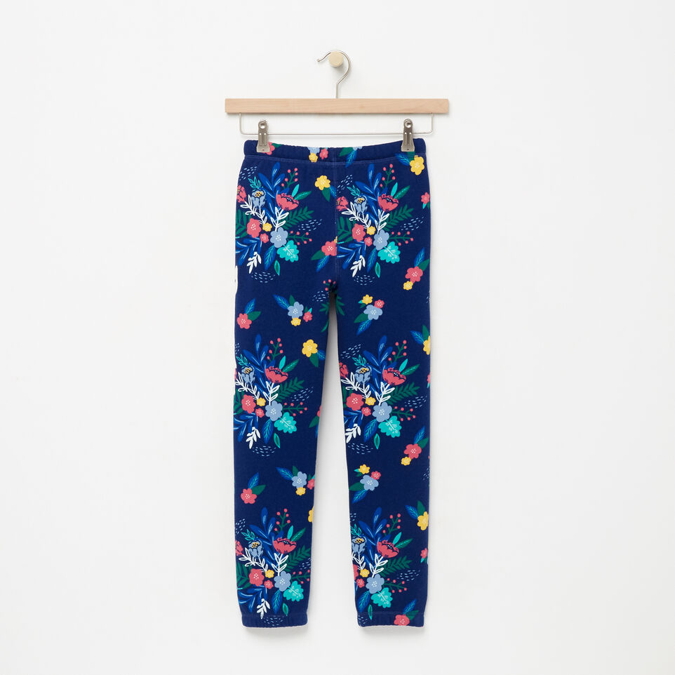 Roots-undefined-Girls Roots Remix Floral Sweatpant-undefined-B