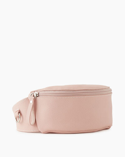 Roots-Leather New Arrivals-Small Belt Bag Cervino-Pink Pearl-A
