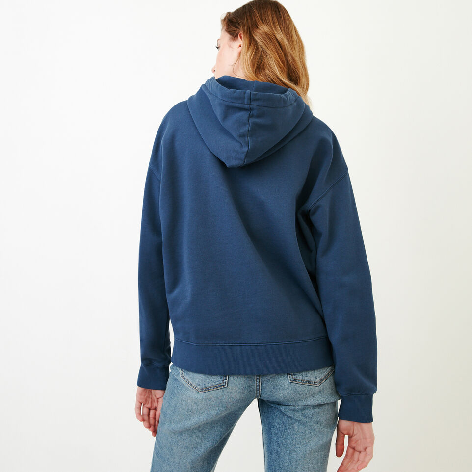 Roots-Women Our Favourite New Arrivals-Kelowna Full Zip Hoody-Sargasso Sea-D