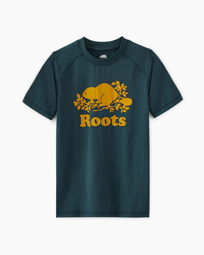 Roots-Kids T-shirts-Boys Journey T-shirt-Kenora Blue Mix-A