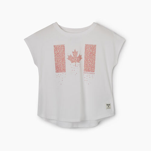Roots-Kids T-shirts-Toddler Confetti Canada T-shirt-Crisp White-A