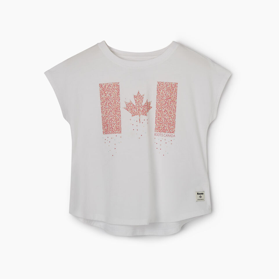 Roots-Kids New Arrivals-Toddler Confetti Canada T-shirt-Crisp White-A