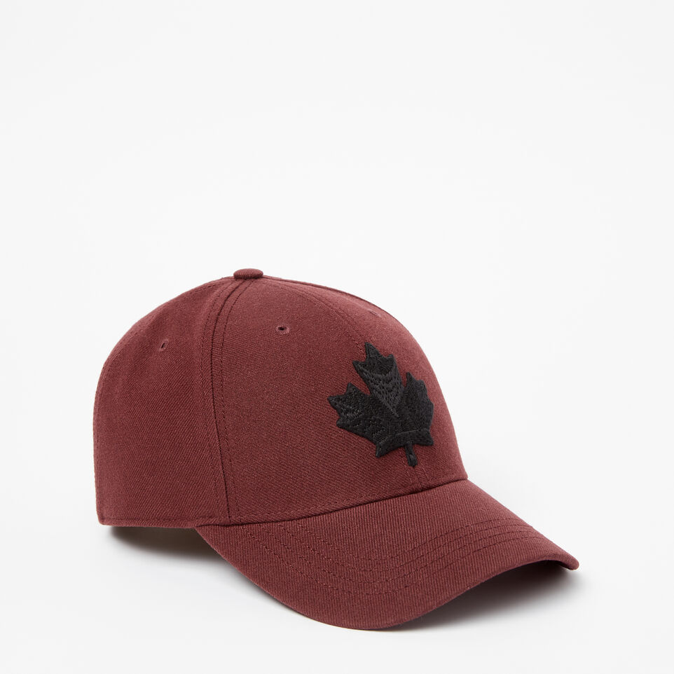 Roots-undefined-Mens Modern Leaf Baseball Cap-undefined-A