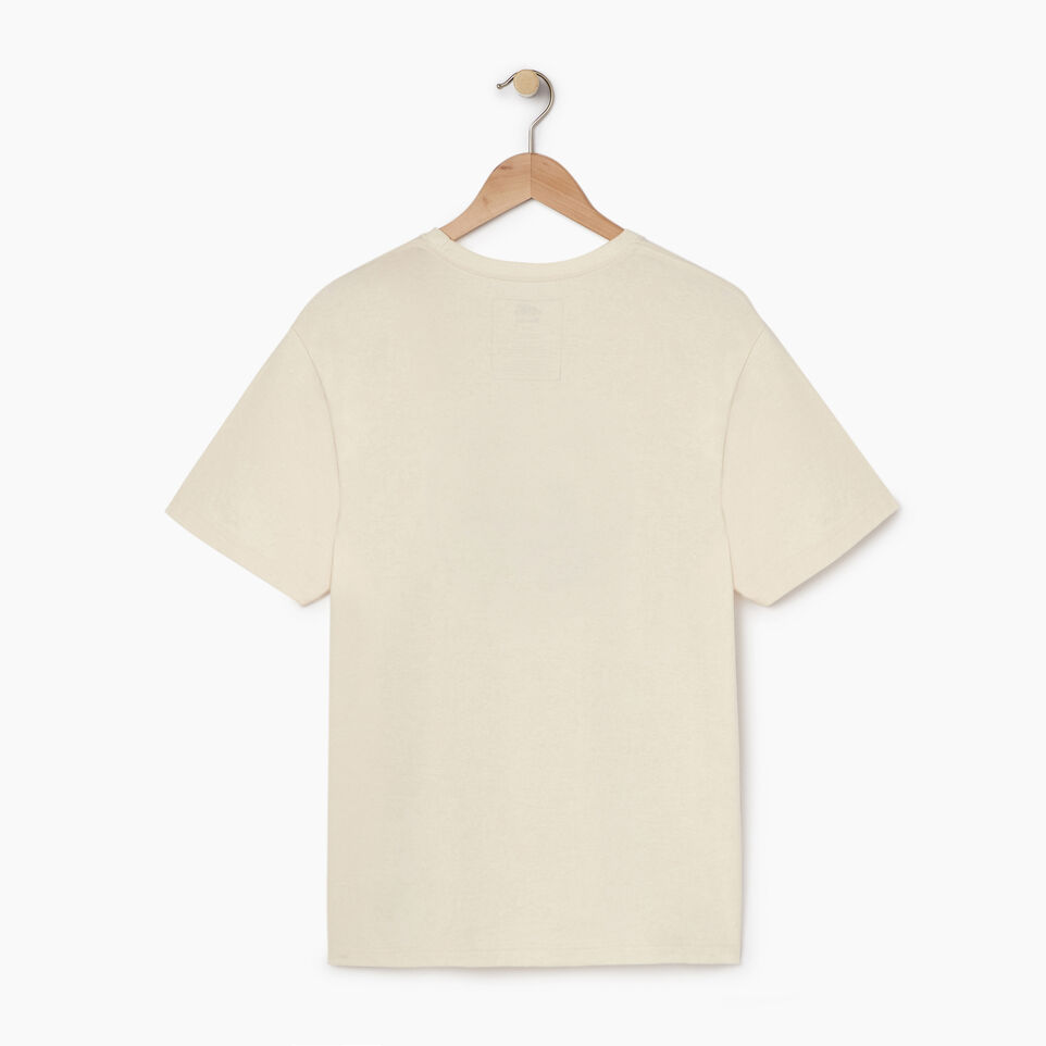 Roots-undefined-Mens Cooper Heather Beaver T-shirt-undefined-B