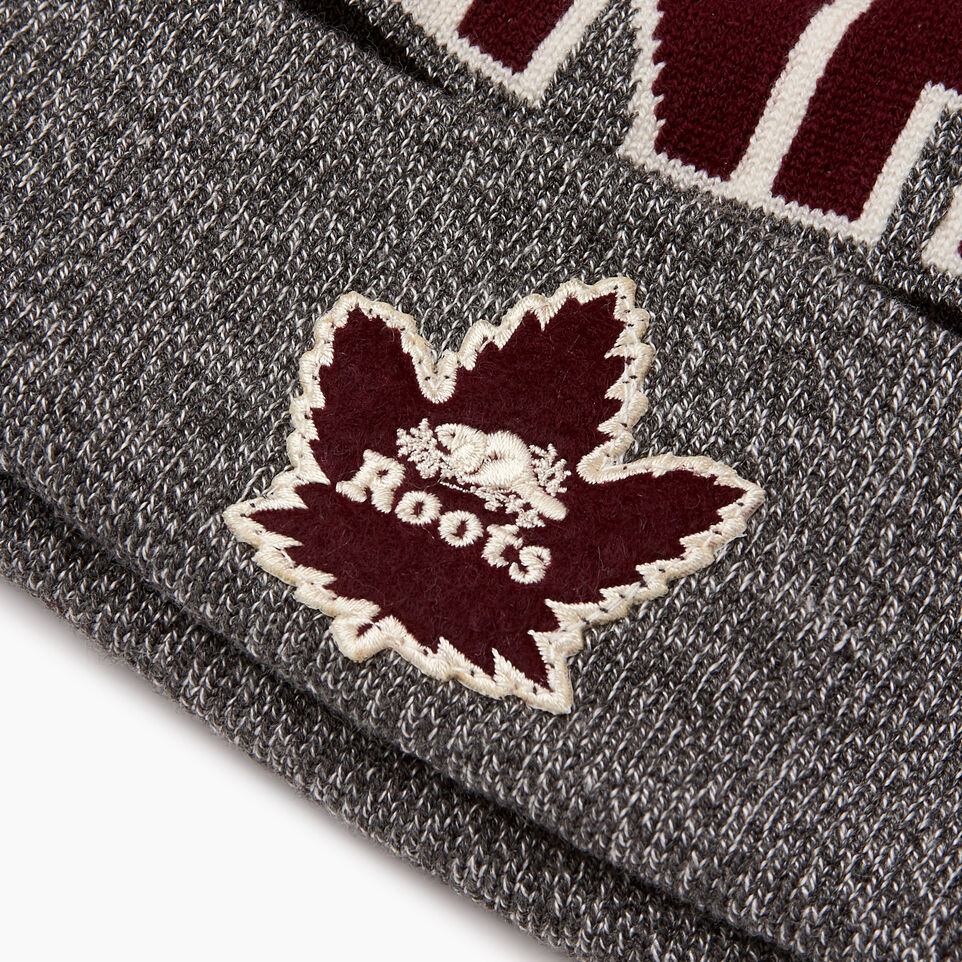 Roots-Women Hats-Roots Canada Toque-Salt & Pepper-E