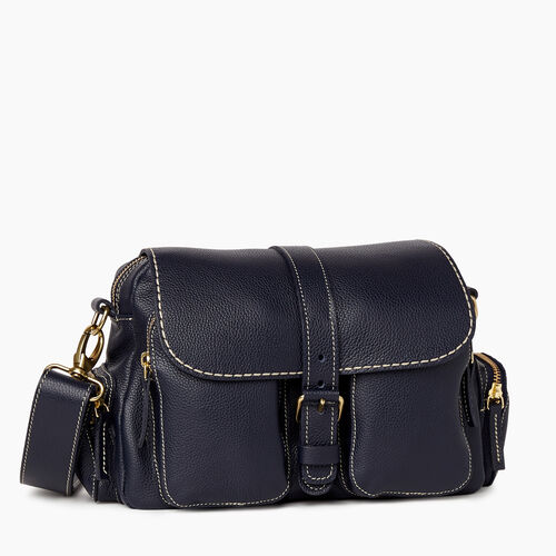 Roots-Leather New Arrivals-Emily Bag Cervino-Navy-A