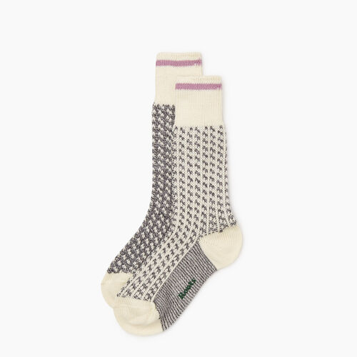 Roots-New For October The Roots Cabin Collection™-Roots 3 Point Cabin Sock 2 Pack-Grey Mix-A