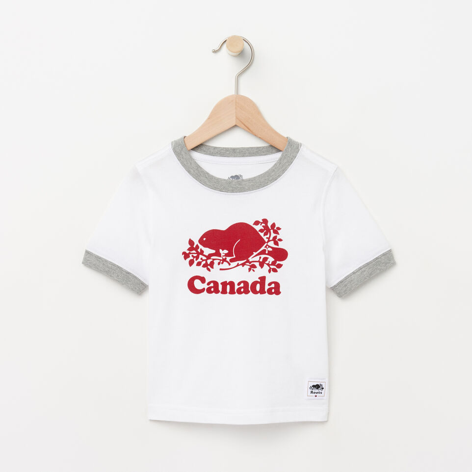 Roots-undefined-Toddler Cooper Canada Ringer T-shirt-undefined-A