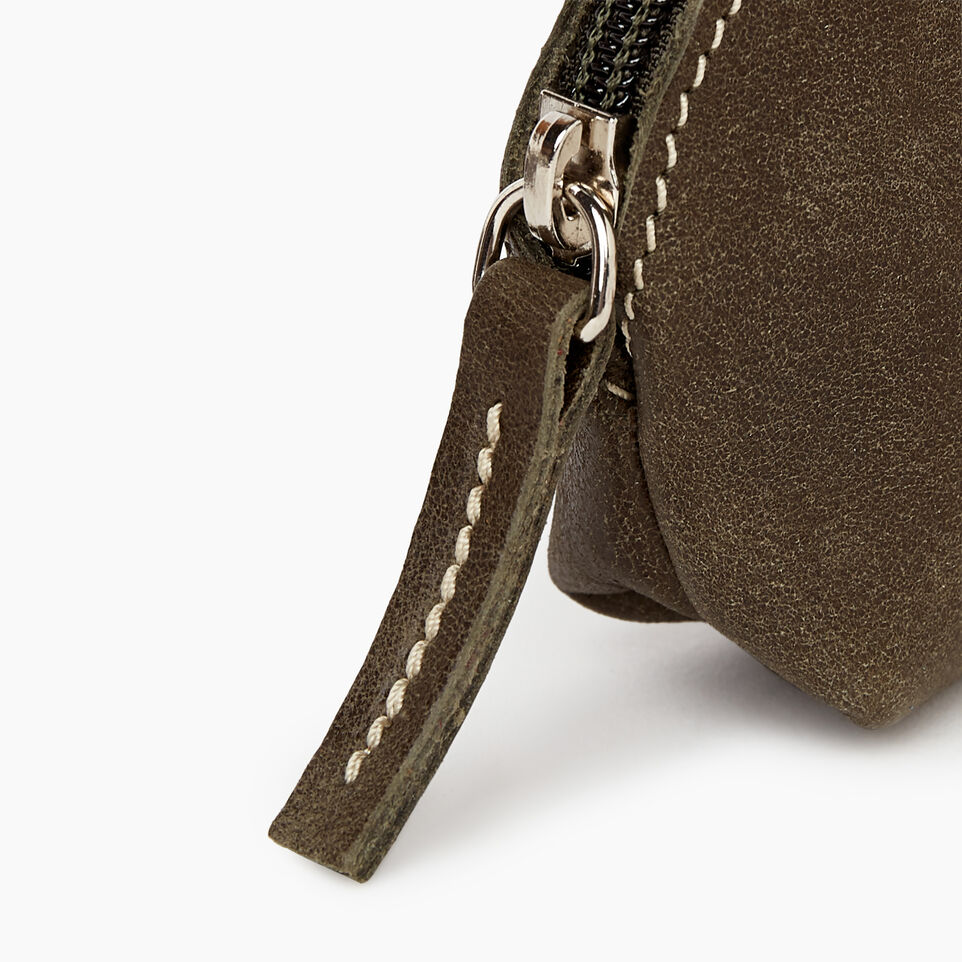 Roots-Women Categories-Small Euro Pouch-Pine-C