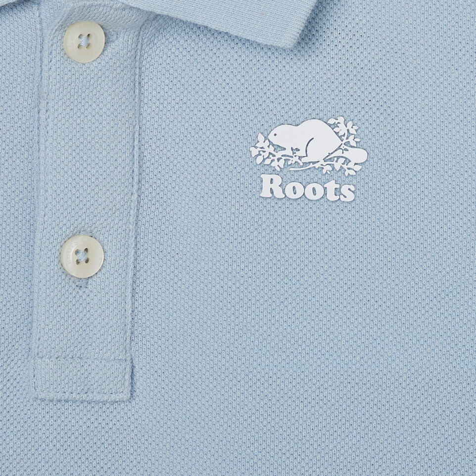 Roots-Kids Toddler Boys-Toddler Heritage Pique Polo-Celestial Blue-C