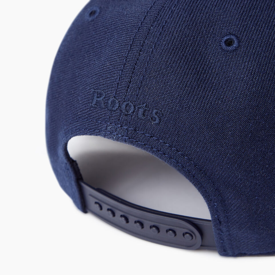 Roots-Men Our Favourite New Arrivals-Modern Leaf Baseball Cap-Navy-E