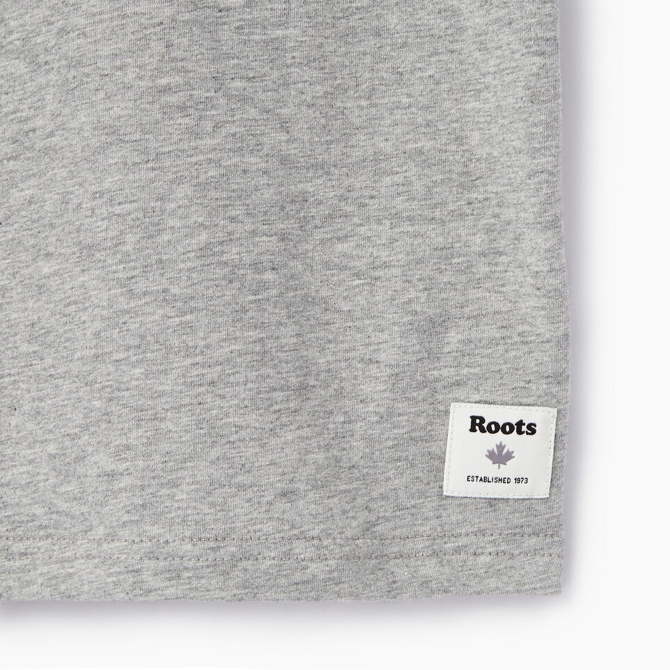 Roots-Kids Our Favourite New Arrivals-Boys Esher T-shirt-Grey Mix-C