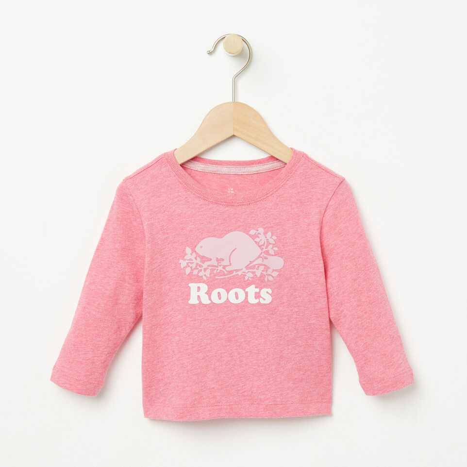 Roots-undefined-Baby Cooper Beaver T-shirt-undefined-A