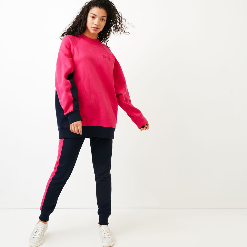 Roots-undefined-The Oversized Crew Sweatshirt-undefined-B