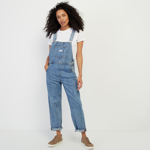 Roots-Women Categories-Levi's Vintage Overall-Med Denim Blue-A