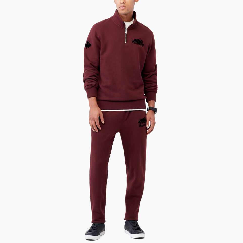 Roots-undefined-Park Slim Open Bottom Sweatpant-undefined-B