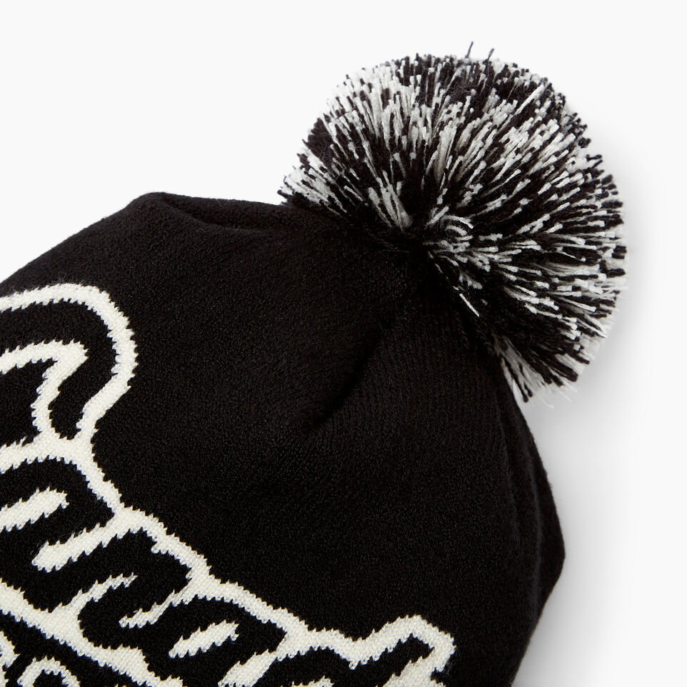 Roots-Women Canada Collection By Roots™-Canada Pom Pom Toque-Black-D