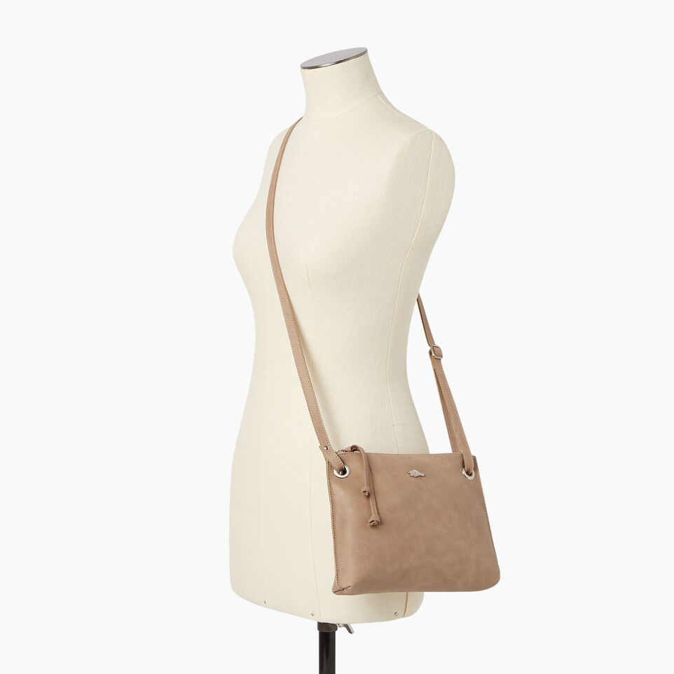 Roots-Leather  Handcrafted By Us Our Favourite New Arrivals-Edie Bag-Sand-B