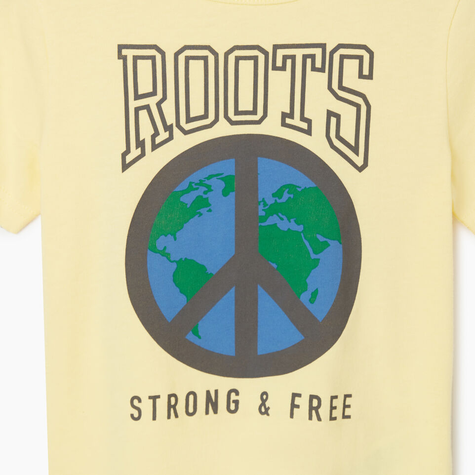 Roots-undefined-Toddler Roots Raiders Peace T-shirt-undefined-C