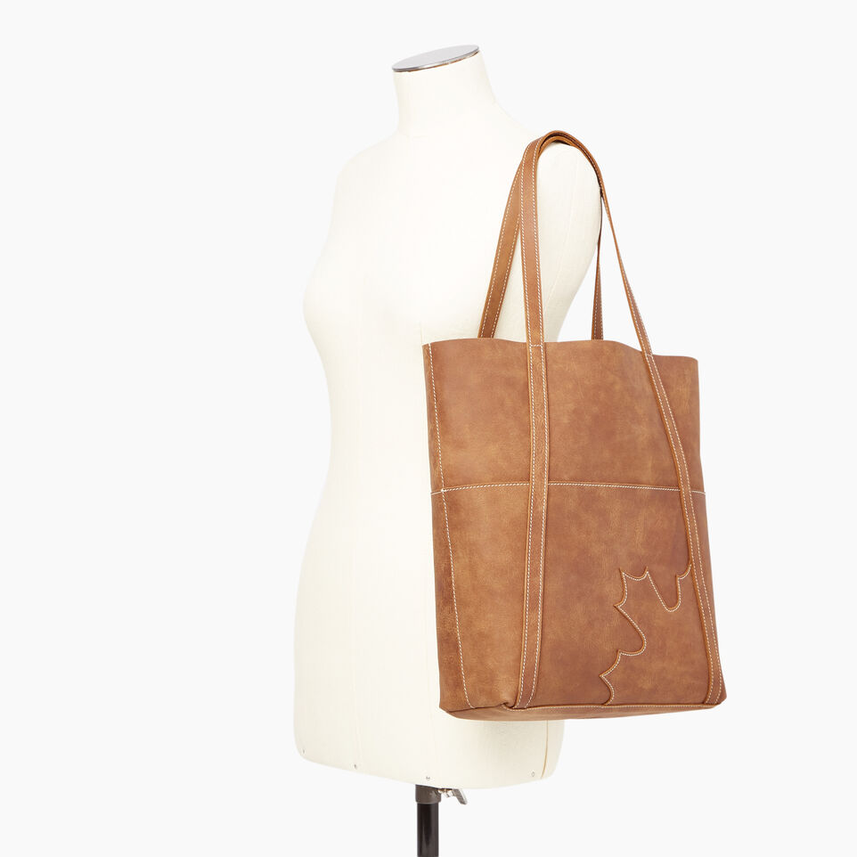 Roots-New For June Canada Collection By Roots™-Trans Canada Tote-Natural-B