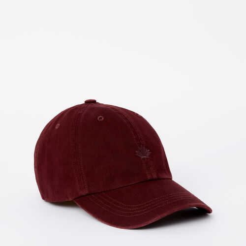 Roots-Sale Accessories-Bedford Baseball Cap-Crimson-A